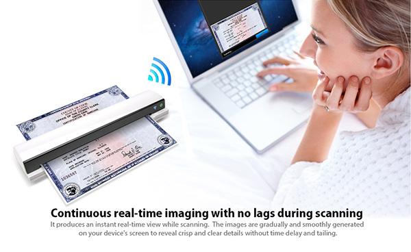 Mustek S400W iScan Air WiFi Scanner_Projectors